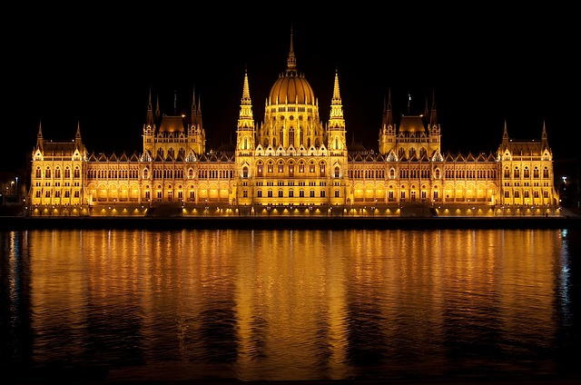 , budapest, hungary, parliament, building, palace