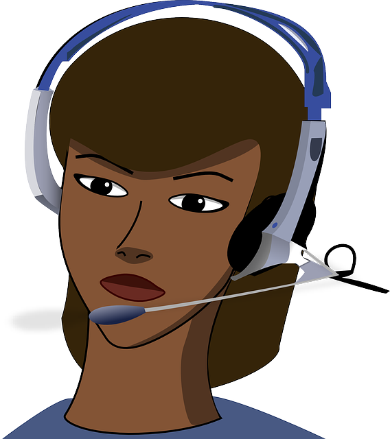 , call-center, girl, headset, office, call, phone
