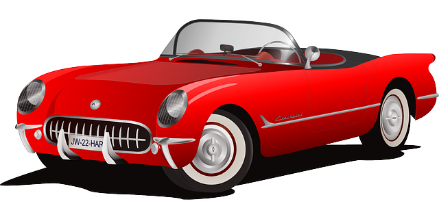 , car, red, cabriolet, sports car, chevy, corvette, auto