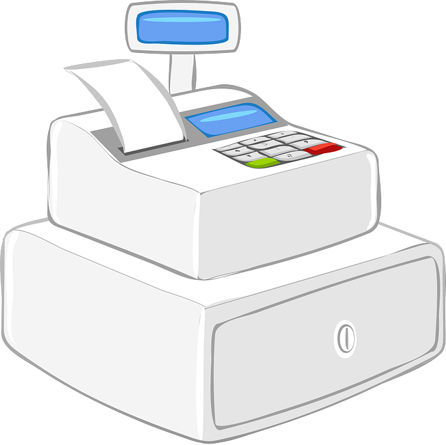 , cashier, calculator, office, purchase, machine, case