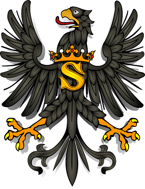 , eagle, bird, animal, coat, symbol, coat of arms, king