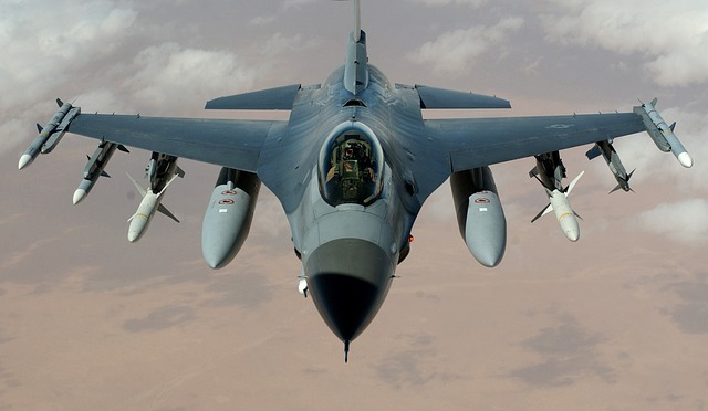 , fighter jet, fighter aircraft, f 16 falcon, aircraft