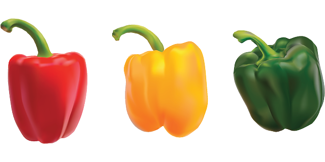 , peppers, bell pepper, sweet pepper, vegetables