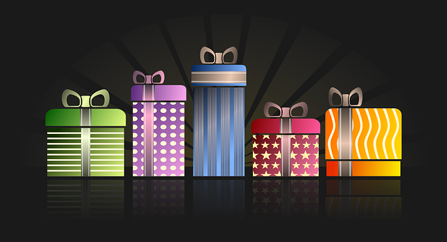 , presents, gifts, birthday, wrapped, christmas, purple