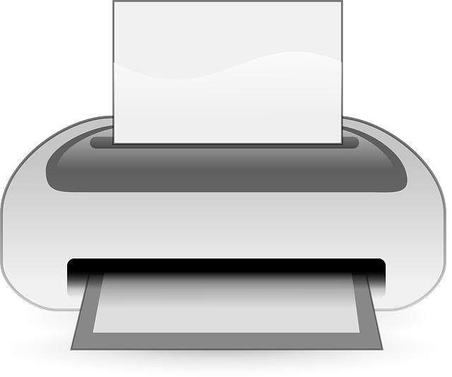 , printer, computer, paper, hardware, peripheral