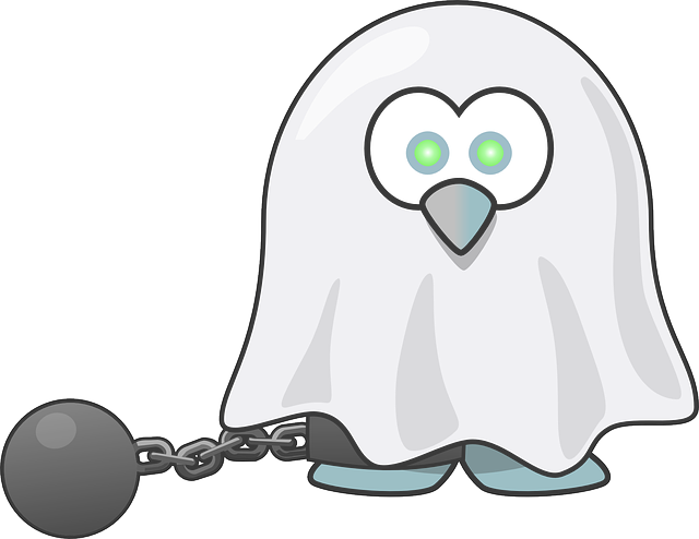 , tux, animal, bird, chain, dead, fear, ghost, halloween