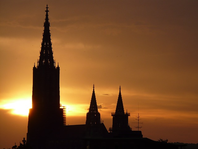 , ulm cathedral, münster, dom, cathedral, architecture