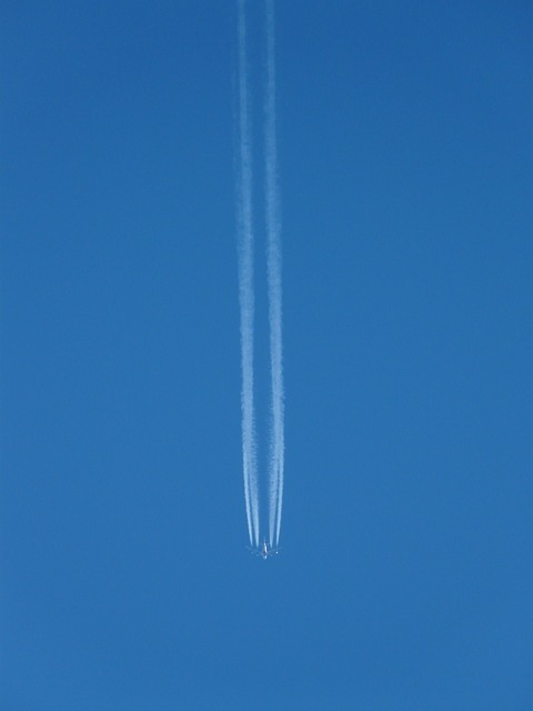 aircraft, fly, contrail, jet, jet propulsion, travel
