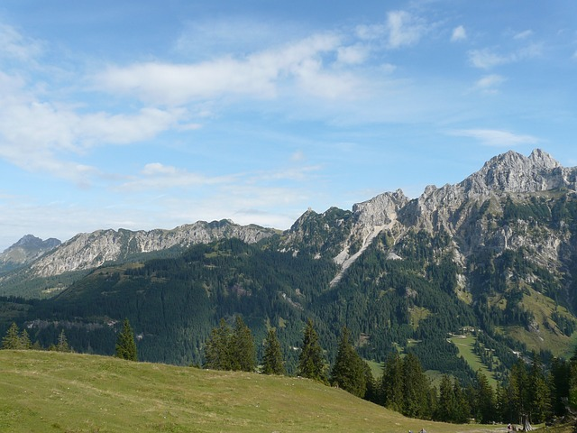allgäu alps, alpine, mountains, aggenstein
