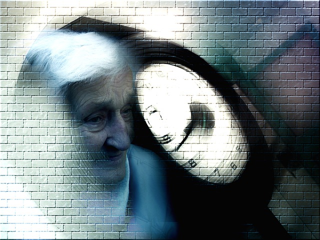 alzheimer's, dementia, woman, old, age, retirement home