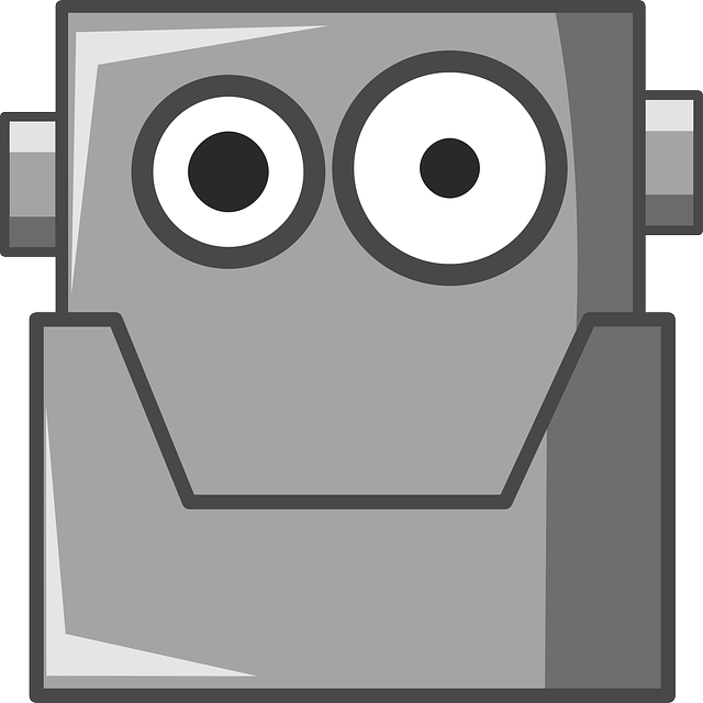 android, artificial, cute, doodle, eyes, head, humanoid
