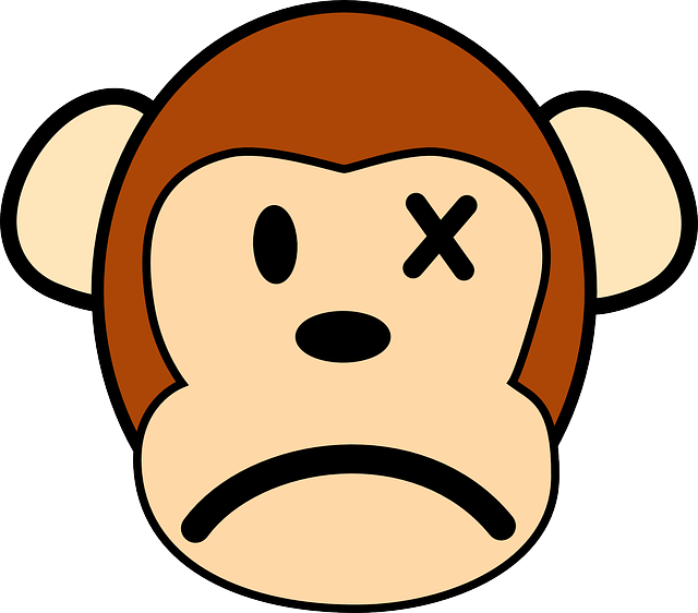 animals, park, monkey, mad, angry, faces, face, cartoon