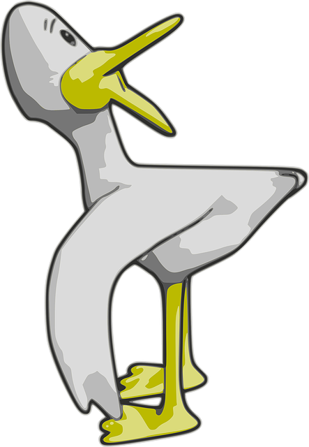 animals, yellow, cartoon, kurt, birds, bird, duck