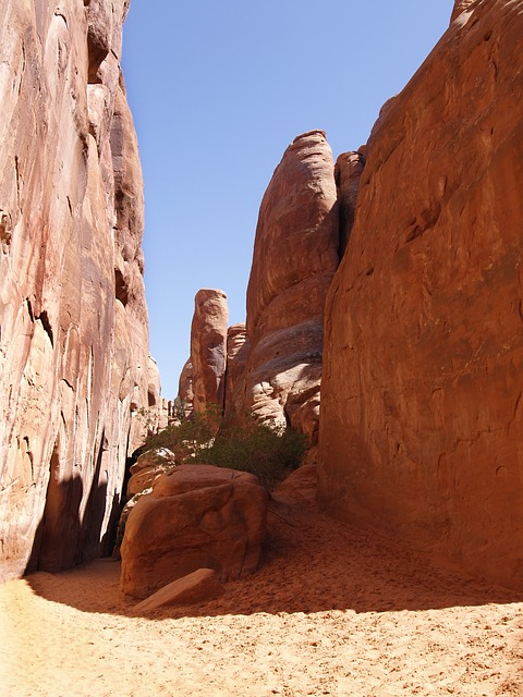 arches, national, park, moab, utah, usa, erosion