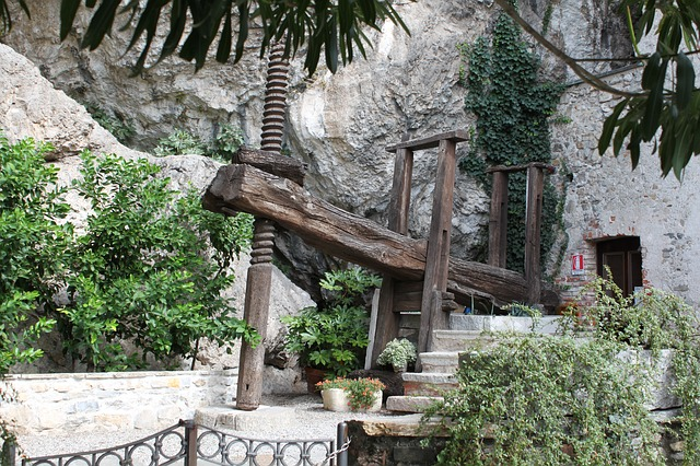 architecture, tool, pump, middle ages, water, wood