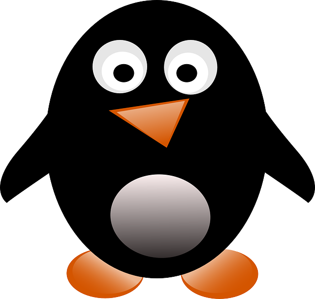 baby, tux, penguin, cartoon, free, cute, dancing