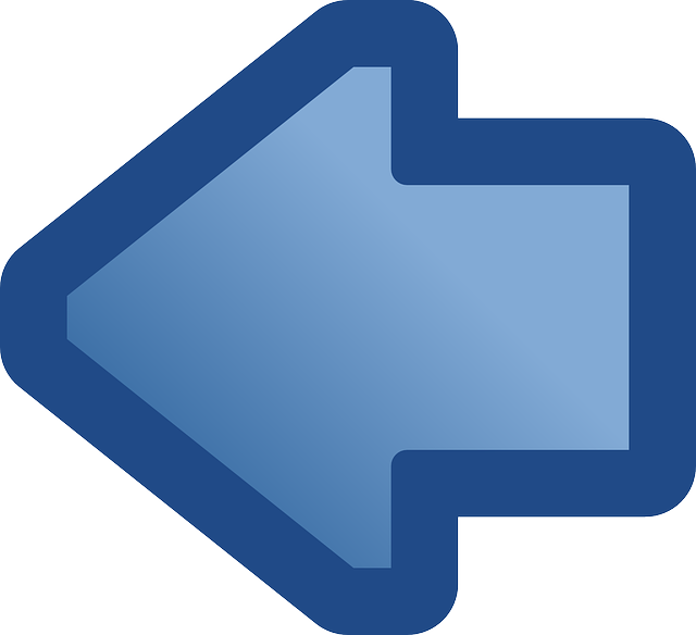 back, flat, icon, left, right, blue, symbol, arrow