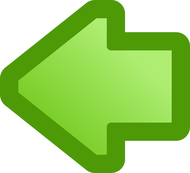 back, green, flat, icon, left, right, arrow, cartoon