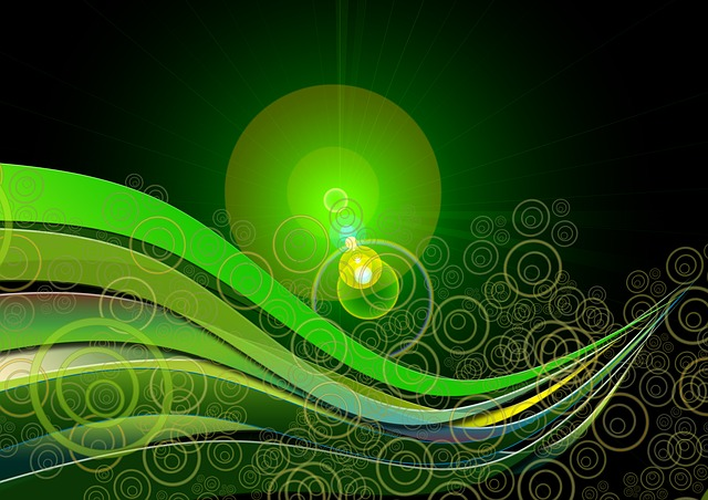 background, green, texture, abstract, fractals, pattern