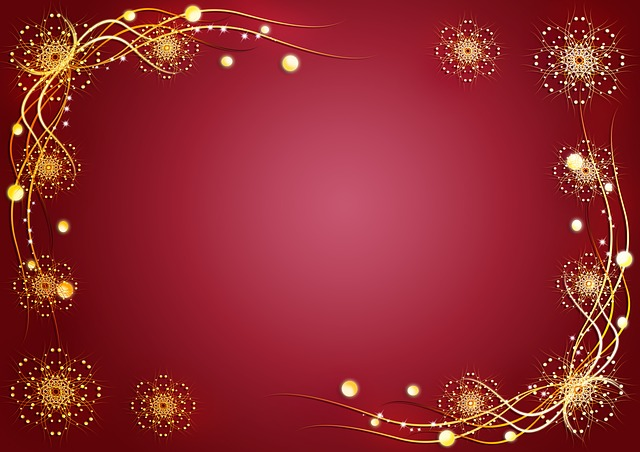 background, illustration, red, pattern, holiday