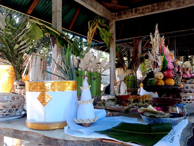 bali, ceremony, gifts