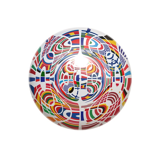 ball, about, europe, flag, european, patchwork, country