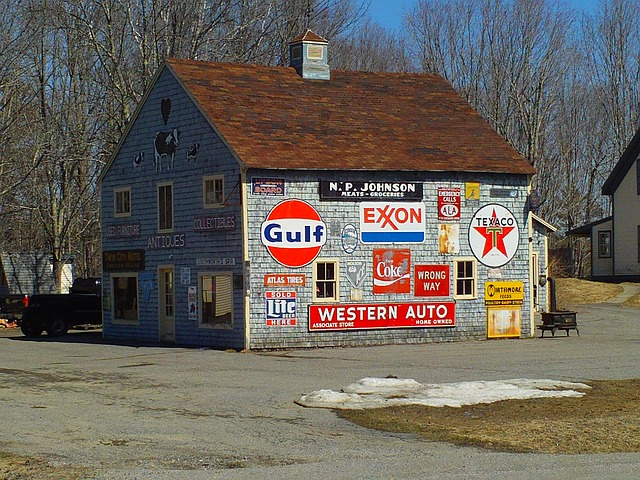 barn, signs, advertising, house, advertisement