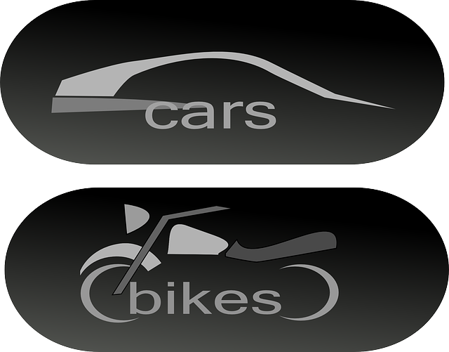 bikes, cars, automotive, vehicles, button, stylistic