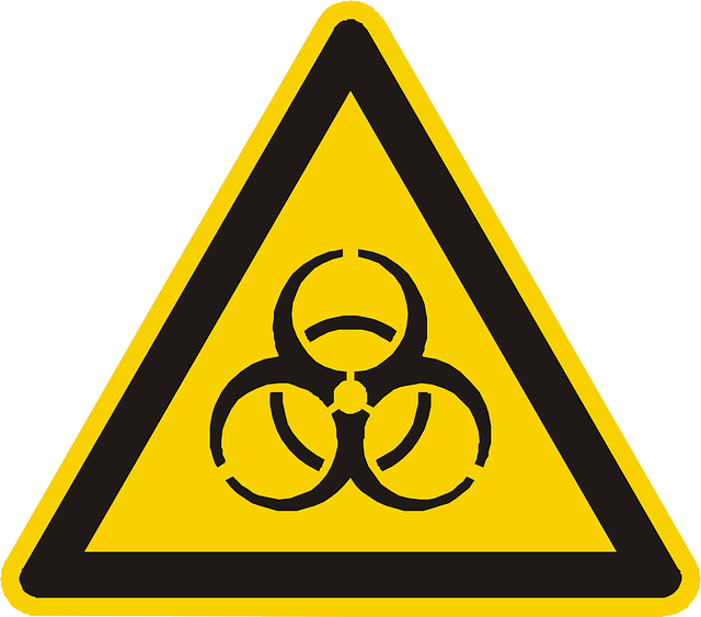 biohazard, poison, warning, attention, yellow, sign