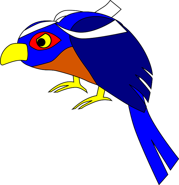 bird, logo, animal