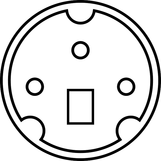 black, diagram, outline, pin, white, connector