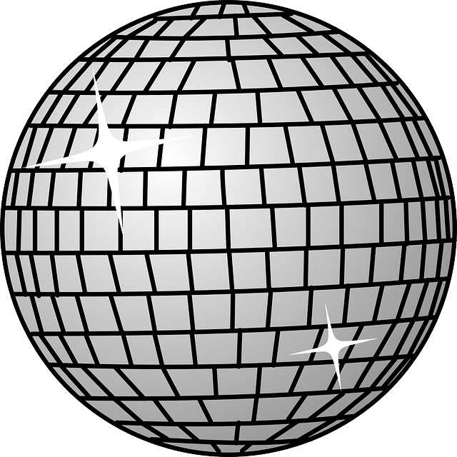black, disco, dance, icon, outline, globe, symbol