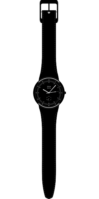 black, hand, time, analog, watch