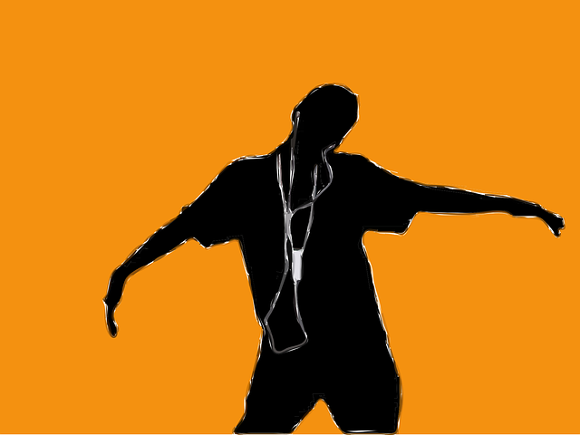 black, icon, apple, people, boy, silhouette, orange