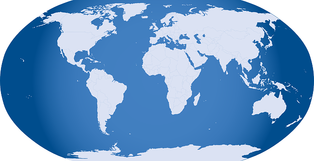 black, icon, blue, simple, outline, globe, map, world