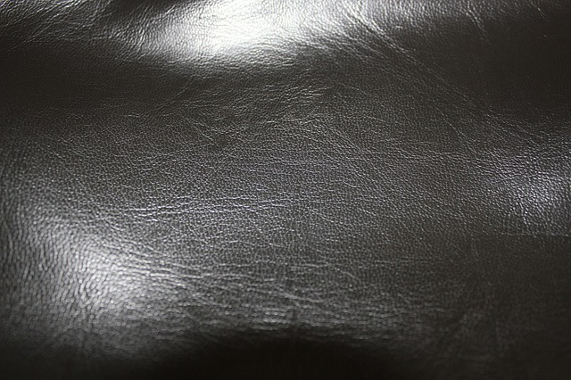black, leather, image, background, object