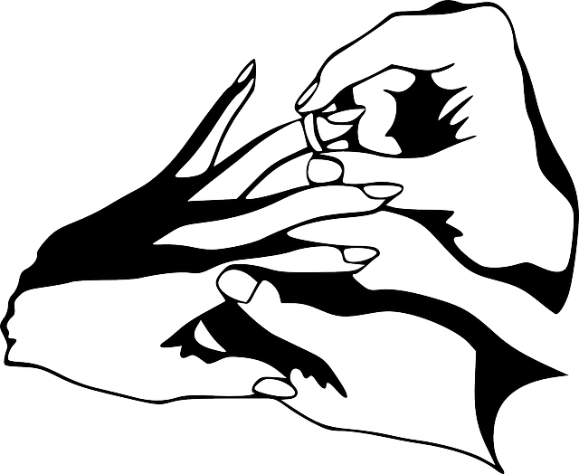 black, rings, outline, symbol, hand, drawing, sketch