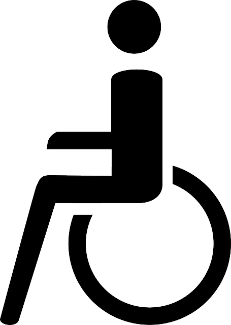 black, symbol, chair, wheel, disabled, comic