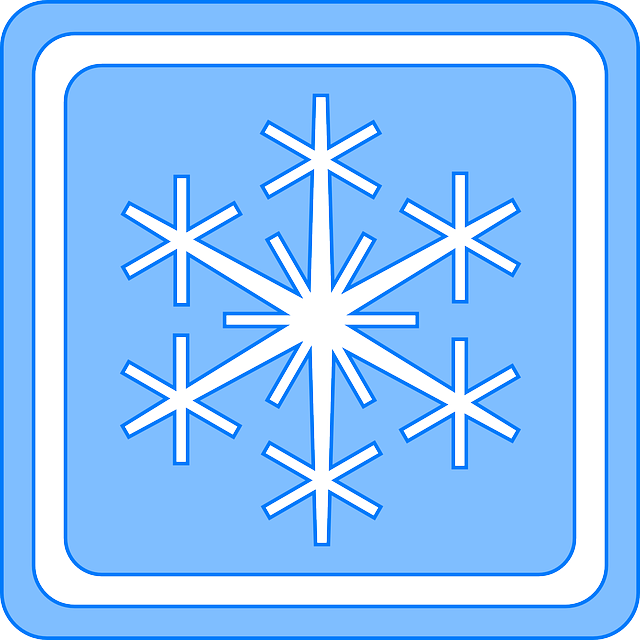 blue, symbol, white, winter, snow, snowflake, flake