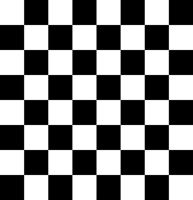 board, chess, chessboard, black, white, checkered