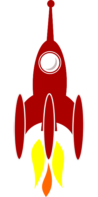 booster, cosmic, rocket, space, transportation
