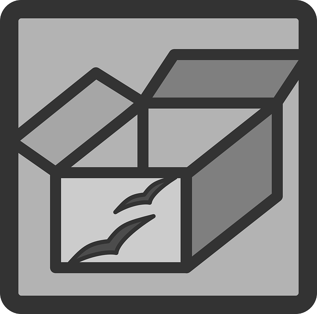 box, flat, open, theme, icon