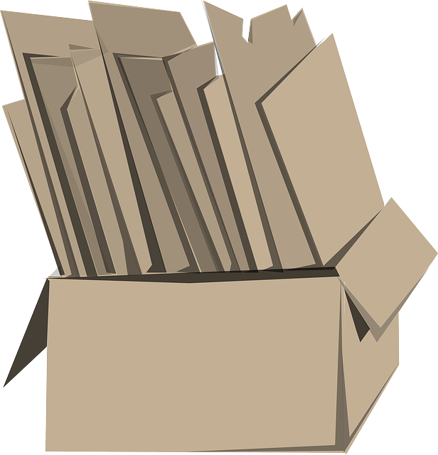 box, papers, containers, cardboard, container, books