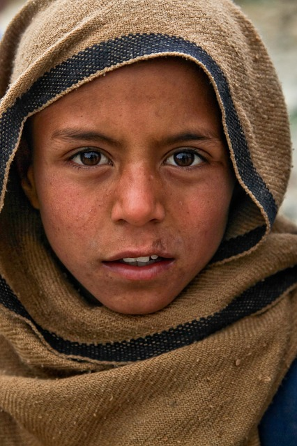 boy, dirty, portrait, strong, poor, child, person