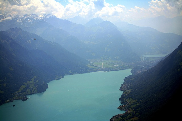 brienz, lake of brienz, switzerland, mountains, alpine