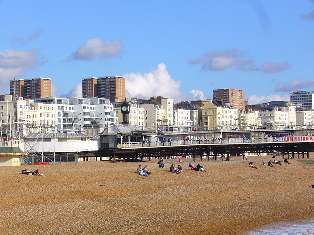 brighton, united kingdom, east sussex, seafront