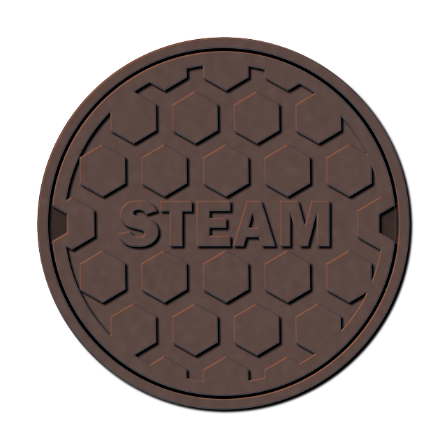 brown, street, iron, cap, steam