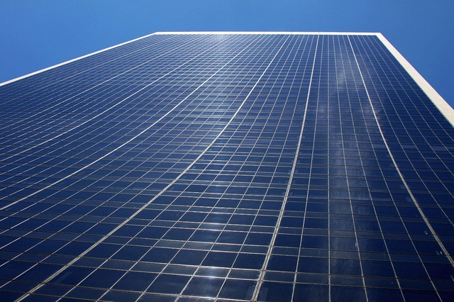 building, structure, city, glass, office, sky