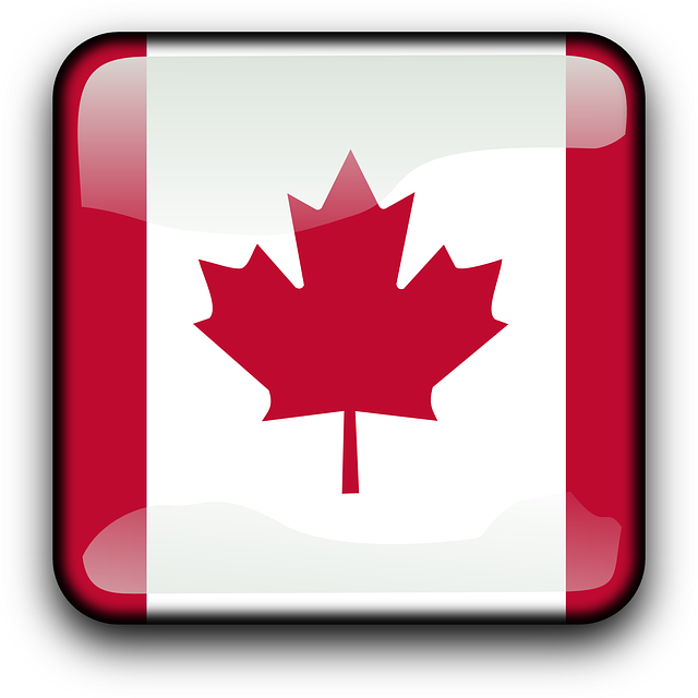 button, country, flag, canada, maple, maple leaf, leaf