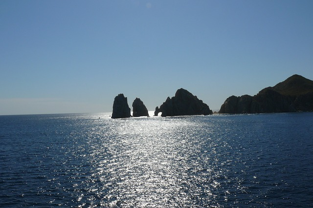 cabo san lucas, mexico, ocean, water, rocks, sea, rock